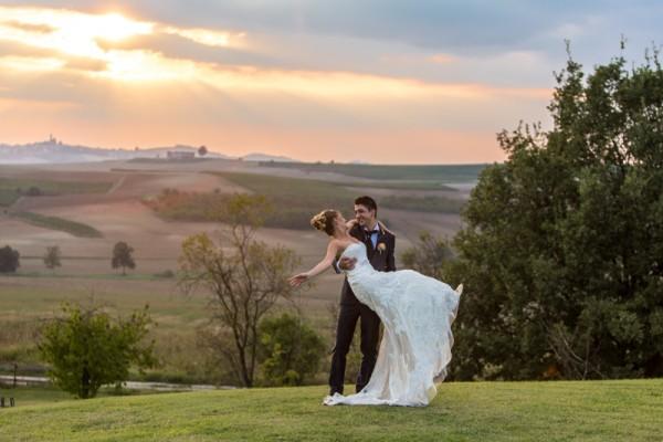 Matrimonio tra le colline del Monferrato